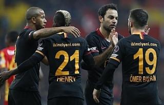 Galatasaray'dan 3 gol 3 puan