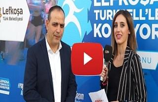 Harmancı,maratonun medya sponsörü Kıbrıs Genç...