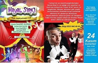 """""""Hayal Sirki"""" isimli müzikli oyun yarın sahneye..."""