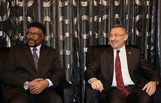 KKTC'de Somali Meclis Başkanı'nı kabul...