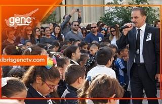 Levent Primary School Atatürk'ü gününde andı