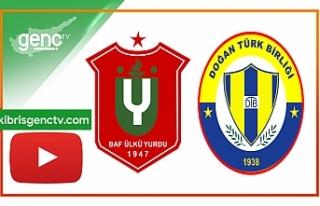 Maç özeti…Baf Ülkü Yurdu – Doğan Türk Birliği