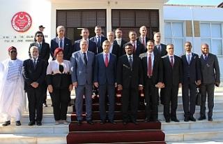 Meclis Başkanı Uluçay, yabancı Parlamenterleri...