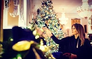 Melania Trump yılbaşına hazırlanıyor