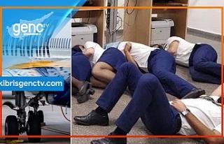 Ryanair yerde uyuyan kabin görevlilerini işten çıkardı