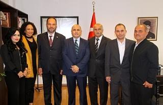 Sadıkoğlu, Başçeri'yi ziyaret etti