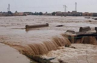 Sel felaketinde ölenlerin sayısının 16'ya...