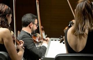 Senfoni Orkestrası, Gazimağusa'da müzikseverlerle...