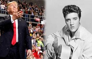 "Trump: ""Gençliğimde beni Elvis Presley'e..."