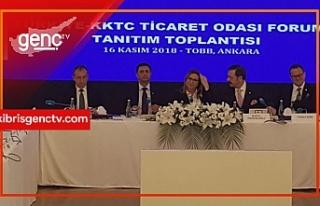 """Türkiye Ticaret Bakanı: """"Kapılar KKTC'li..."""