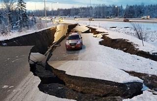 ABD'nin Alaska eyaletinde deprem: 7.0 şiddetinde
