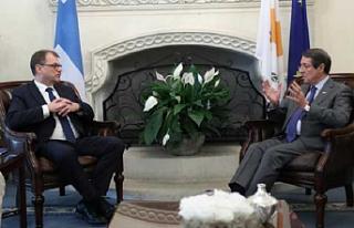 Anastasiadis Finlandiya Başbakanı'yla görüştü