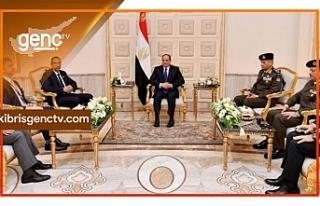 Angelidis ve El Sisi görüştü