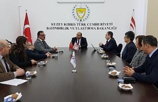 Ataoğlu, Engelli Hizmetleri Koordinasyon Kurulu heyetini...