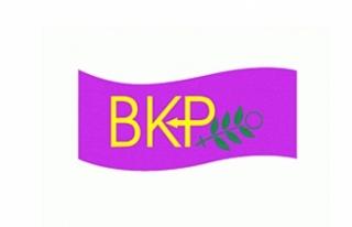 BKP Kadın Meclisi'nden açıklama