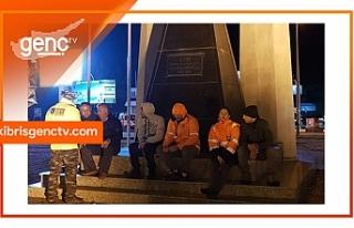 CAS Çalışanları açlık grevine başladı