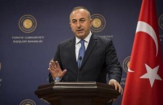 """Çavuşoğlu: """"Suriye'de siyasi çözüm..."""