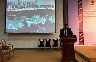 Çeler, İslam İşbirliği Teşkilatı toplantısında...