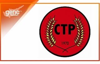 CTP'den geleneksel kuruluş yıl dönümü resepsiyonunu...