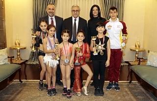 Cumhurbaşkanı Akıncı, KKTC Çocuk Fitness Milli...