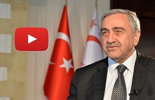 Cumhurbaşkanı Mustafa Akıncı'dan yeni yıl...