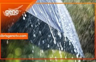 En çok yağış Selvili'ye