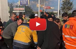 Ercan'da insanlık dramı...CAS çalışanlarının...