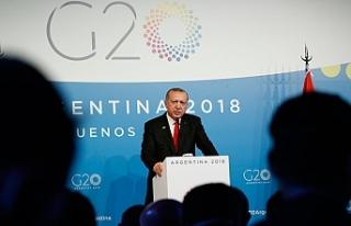 """Erdoğan: """"Türkiye Kıbrıs Türkünün hak..."""