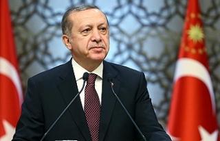"""Erdoğan: """"Türkiye'nin şahlanışını..."""