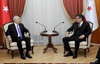 Erhürman, CHP Genel Başkanı Kemal Kılıçdaroğlu'nu...
