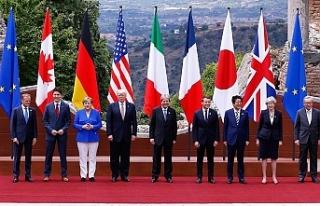 G7'den Rusya'ya tepki