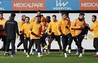 Galatasaray hazırlık maçı yapacak