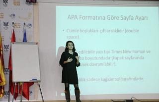 GAÜ'de APA Formatı için sunum
