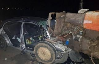 Girne-Güzelyurt Anayolu'nda kaza