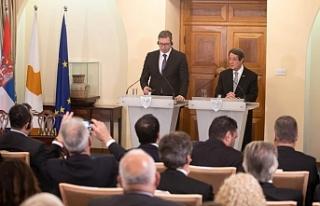Güney Kıbrıs ile Sırbistan arasında anlaşmalar...