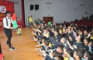 Güzelyurt Belediyesinden çocuklara yeni yıl etkinliği