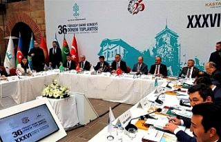 Hamzaoğulları Türksoy Daimi Konseyi Toplantısında