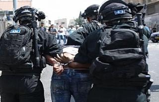 İsrail güçleri,6 bin 489 Filistinliyi gözaltına...