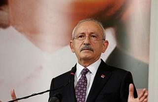 """Kılıçdaroğlu: """"Binali Yıldırım adaylıktan..."""