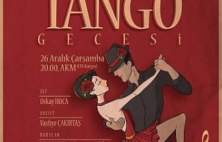 LBO Tango gecesi düzenliyor
