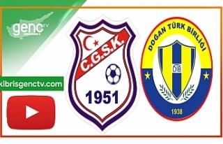 Maç Özeti…Cihangir-Doğan Türk Birliği