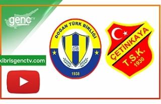 MAÇ ÖZETİ…Doğan Türk Birliği-Çetinkaya