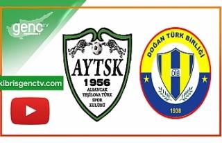 Maç Özeti...Merit Alsancak Yeşilova - Doğan Türk...