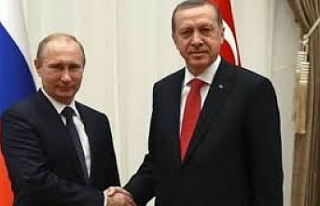 Putin, Erdoğan'ın yeni yılını kutladı