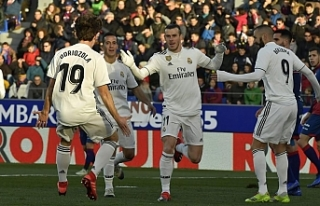 Real Madrid'den zor galibiyet