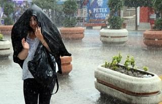 'Son yılların en şiddetli yağışının yarın...