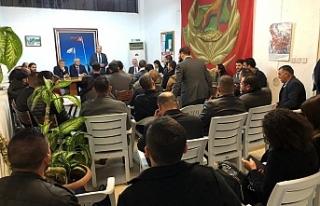 Tatar, UBP Gençlik Kolları yöneticileri ile bir...