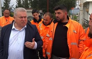 TKP Yeni Güçler heyetinden CAS çalışanlarına...