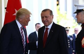 """Trump: """"Erdoğan, Suriye'de IŞİD'den..."""