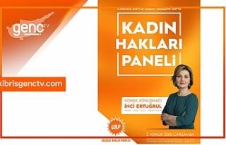 UBP'den Dünya Kadın Hakları Günü paneli